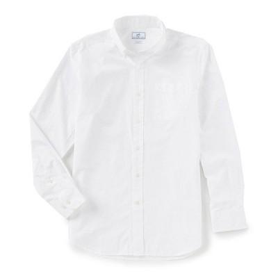 サウザーンタイド メンズ シャツ トップス Sullivan Solid Long-Sleeve Woven Shirt Classic White