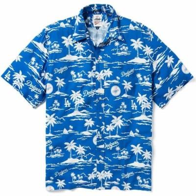 レインスプーナー Reyn Spooner メンズ シャツ トップス Los Angeles Dodgers Vintage Rayon Button-Down Shirt