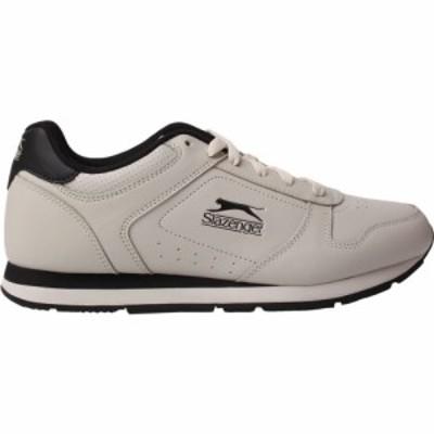 スラセンジャー Slazenger メンズ スニーカー シューズ・靴 Classic Trainers Chalk/Black