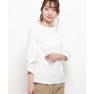 smart pink / スマート ピンク 【洗える】エステルタイプライターシャツ