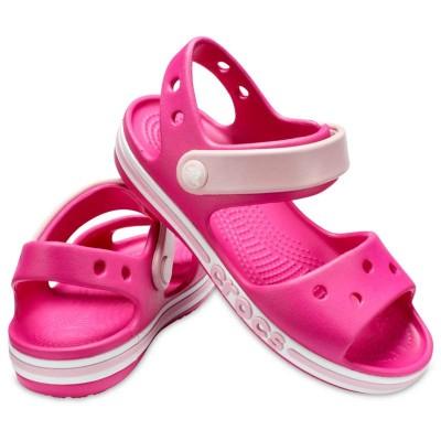 [クロックス公式] サンダル バヤバンド サンダル キッズ キッズ、子供用、男の子、女の子 ピンク 13cm,14cm,15cm,15.5cm,16.5cm,17.5cm,18cm,18.5cm,19cm,19.5cm,20cm,21cm Kids' Bayaband Sandal