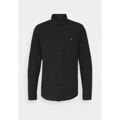 カルバンクライン メンズ シャツ トップス SLIM FIT - Formal shirt - black black