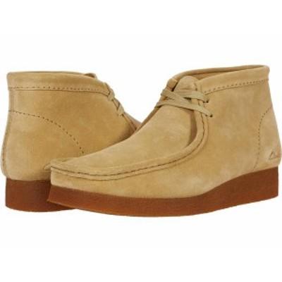 クラークス メンズ ブーツ・レインブーツ シューズ Wallabee Boot 2 Maple Suede