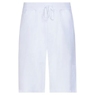 GAëLLE Paris バミューダパンツ ホワイト XL コットン 100% バミューダパンツ