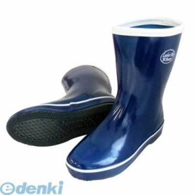 喜多(KITA) [4931530558463]ネイビー 25.0 婦人ゴム長靴 LR020
