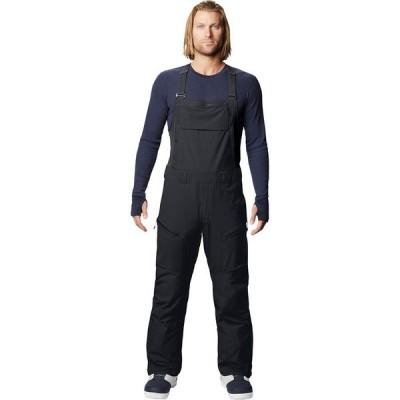 【倍倍ストア】(取寄)マウンテンハードウェア ビブ パンツ - メンズ Mountain Hardwear Firefall Bib Pant - Men's Black 2 倍々ストア