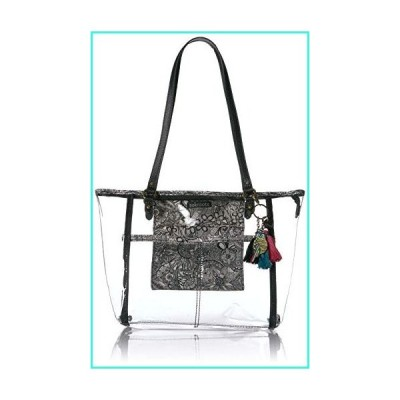 【新品】Sakroots Festival Medium Tote, Clear(並行輸入品)