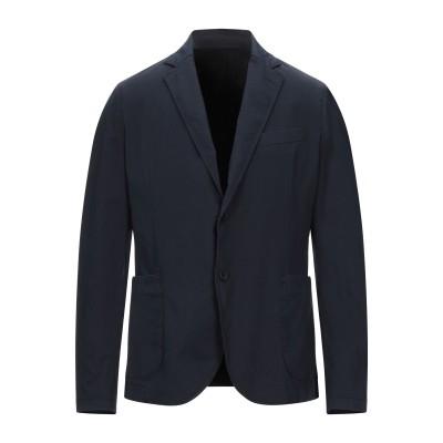 MARCIANO テーラードジャケット ダークブルー 46 コットン 97% / ポリウレタン 3% テーラードジャケット
