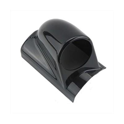 (エスネット) ピラー スピード メーター カバー フード 汎用 1連 右ハンドル 用 ホルダー オート ゲージ 水温