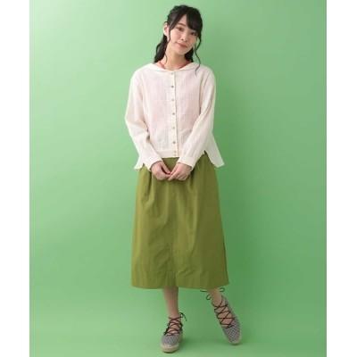 Jocomomola / ナイロンタックスカート WOMEN スカート > スカート