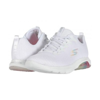 SKECHERS Performance スケッチャーズ レディース 女性用 シューズ 靴 スニーカー 運動靴 Go Walk Air - White