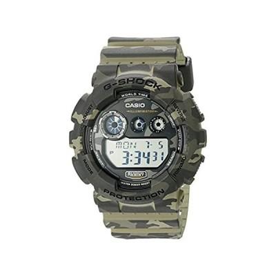 【イチオシ厳選】カシオ 腕時計 G-SHOCK Camouflage Series(カモフラージュシリーズ) グリーン系 [逆輸入品] GD-120CM-5CR