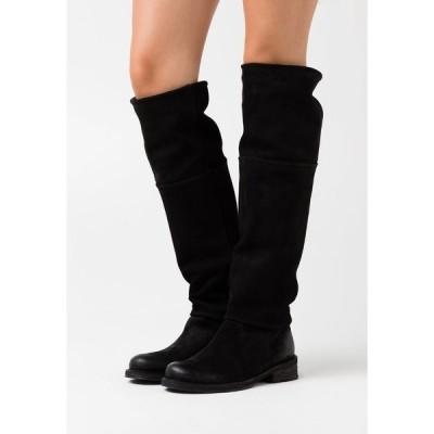 フェルミニ ブーツ&レインブーツ レディース シューズ COOPER - Over-the-knee boots - nirvan nero