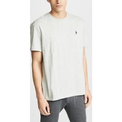 (取寄)ポロ ラルフローレン クルー ティー シャツ Polo Ralph Lauren Crew Tee Shirt GreyHeather