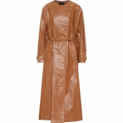 イザベル マラン Isabel Marant レディース トレンチコート アウター Corly Linen-Blend Trench Coat Camel