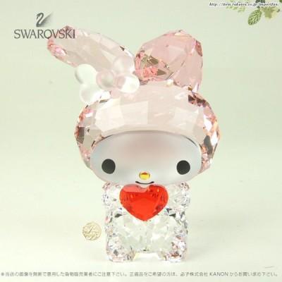 スワロフスキー マイメロディ レッドハート Swarovski My Melody Red Heart 5004742 置物