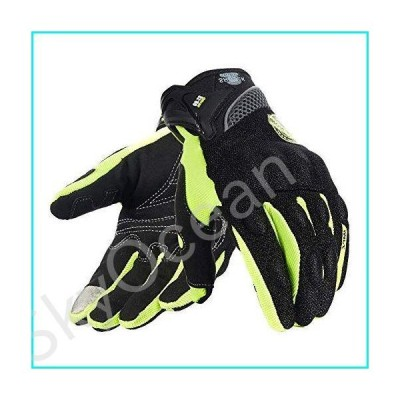 Motorcycle Glove Touchscreen for Men,Breathable Touch Screen Riding Full Finger Gloves【並行輸入品】