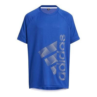 adidas (アディダス) バッジ オブ スポーツ 半袖Tシャツ / Badge of Sport Tee FREE . ジュニア 51913 GP0763