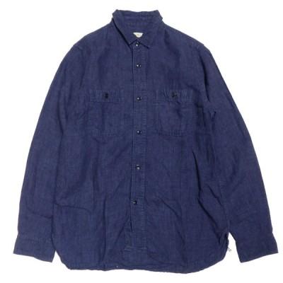 nest Robe リネンシャツ ネイビー サイズ:- (神戸三宮センター街店) 210218