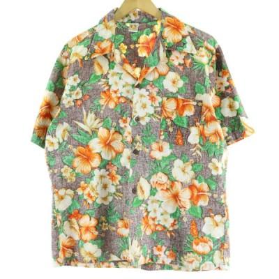 HANG TEN ハワイアンアロハシャツ メンズL /eaa061122