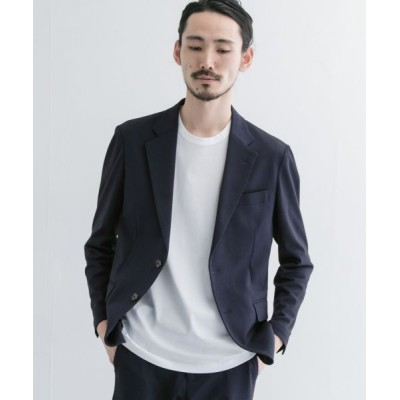 URBAN RESEARCH/アーバンリサーチ ALBINI SURF KNIT 2B JACKET NAVY L