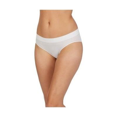 DKNY Intimates ダナキャランニューヨーク レディース 女性用 ファッション 下着 ショーツ Seamless Litewear Bikini - Poplin White