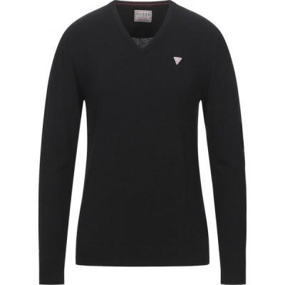 ゲス GUESS メンズ ニット・セーター トップス Sweater Black