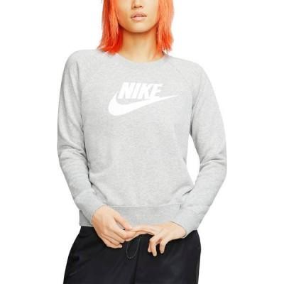 ナイキ レディース パーカー・スウェット アウター Nike Women's Sportswear Essential Fleece Crewneck Sweatshirt