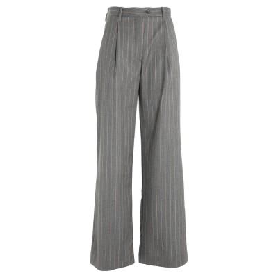 NINE:INTHE:MORNING パンツ グレー 26 ウール 100% パンツ