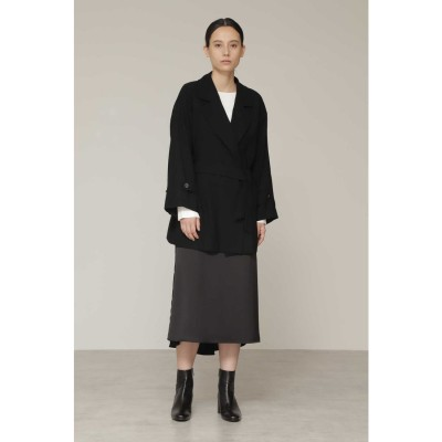 ◆サテンマーメイドスカート ブラック