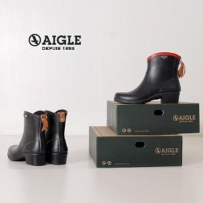 AIGLE エーグル レインブーツ レディース ミスジュリエット ボッティロン 8891 MIS JULIETTE BT2 ミディアム丈 ラバーブーツ 正規品 黒