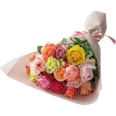 アデリーアデリー バラ花束 ミックス 18本 RH-M18 1箱(直送品)