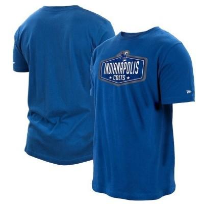 ニューエラ メンズ Tシャツ トップス Indianapolis Colts New Era 2021 NFL Draft Hook T-Shirt