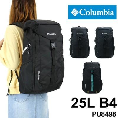 Columbia(コロンビア) 被せリュック リュックサック デイパック バックパック 25L B4 撥水 PU8498 メンズ レディース 男女兼用 ジュニア 送料無料
