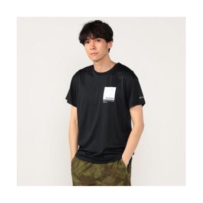 (Columbia/コロンビア)ロイヤルクリークショートスリーブTシャツ/メンズ ブラック