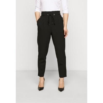 オンリー プティ カジュアルパンツ レディース ボトムス ONLHERO LIFE STRING PANT - Trousers - black