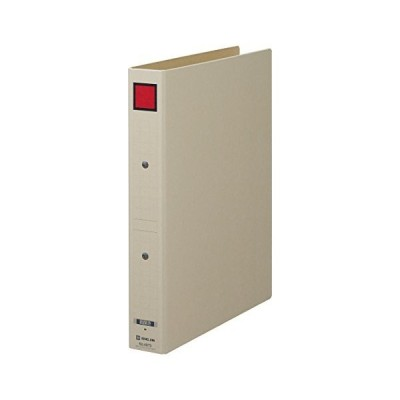 キングジム 保存ファイル ドッチ式 赤 A4 4073アカ