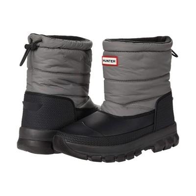 ハンター Original Insulated Snow Boot Short レディース ブーツ Mere/Black