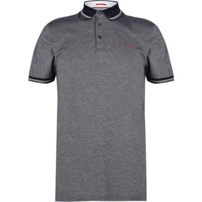 テッドベーカー Ted Baker メンズ ポロシャツ トップス Logo Polo Shirt Navy