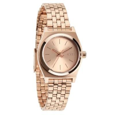 NIXON ニクソン Small Time Teller スモールタイムテラー ローズゴールド 国内正規品 腕時計 NA399897
