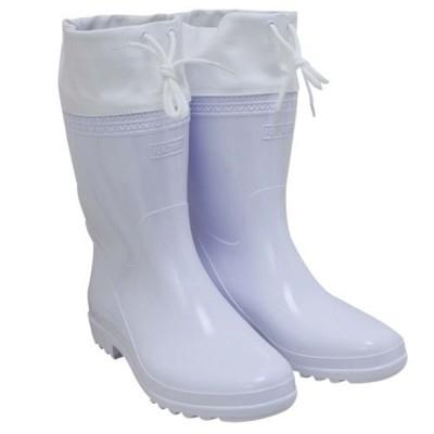 セフティー3 刈払作業用長靴(中敷付) 白 25cm