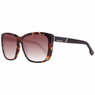 Diesel Women's DL0089 Butterfly Brown Sunglasses 59
