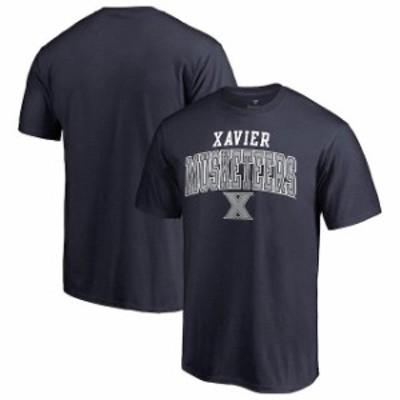 Fanatics Branded ファナティクス ブランド スポーツ用品  Fanatics Branded Xavier Musketeers Navy Team Logo Square