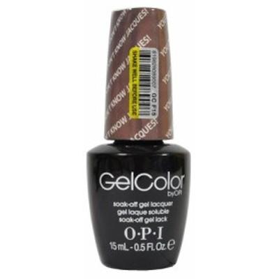 新品 送料無料 OPI gelcolor GC F15 15ml オーピーアイ ジェルカラー LED ジェルネイル ネイルカラー