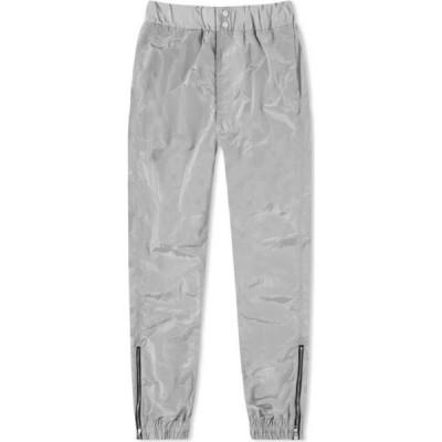 コール バクストン Cole Buxton メンズ スウェット・ジャージ ボトムス・パンツ Nylon Track Pant Silver