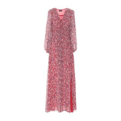 NICHOLAS ロングワンピース&ドレス レッド 0 シルク 100% ロングワンピース&ドレス