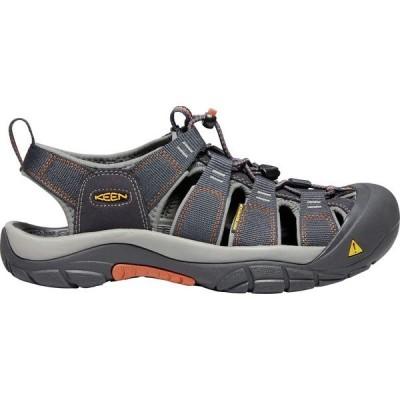 キーン サンダル シューズ メンズ KEEN Men's Newport H2 Sandals IndiaInk/Rust
