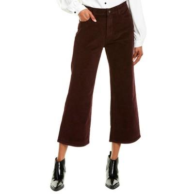 ディーエル1961 デニムパンツ ボトムス レディース DL1961 Premium Denim Hepburn Garnet Red High-Rise Wide Leg Jean Garnet Red