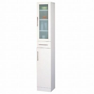食器棚 カトレア 幅30×高さ180cm ( キッチン収納 カップボード 送料無料 しょっきだな 一人暮らし )