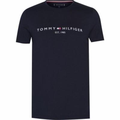 トミー ヒルフィガー Tommy Hilfiger メンズ Tシャツ ロゴTシャツ トップス Logo T Shirt Sky Captain